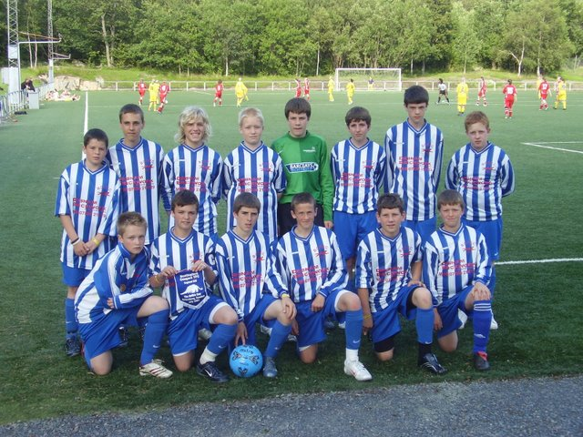The team at the Gothia Cup in Sweden 2007