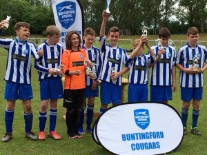 Cougars U13s Winners in 2015