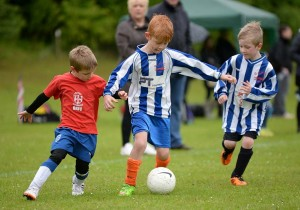 Cougars U6's entertain Bedwell