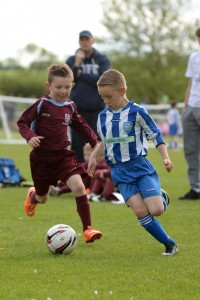 Cougars U7s set the standard on day1 by reaching the final