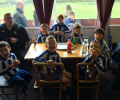 Cougars u7 Whites faced Shefford at the Bury