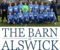Cougars Under13's are a fine bunch of young men and really appreciate their new kit sponsored by The Barn at Alswick and jackets sponsored by GloHouse Media.