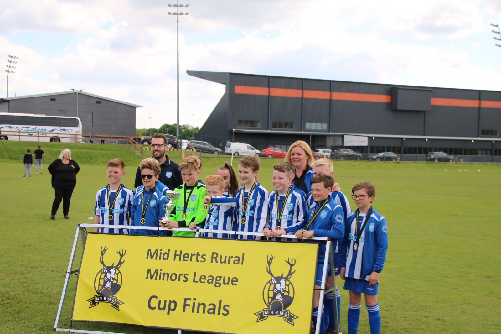 Buntingford Cougars U12s Whites Cup Success!