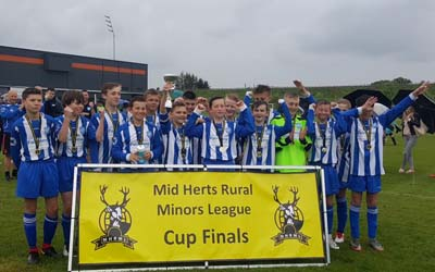 Buntingford Cougars U13s Blues Cup Success!