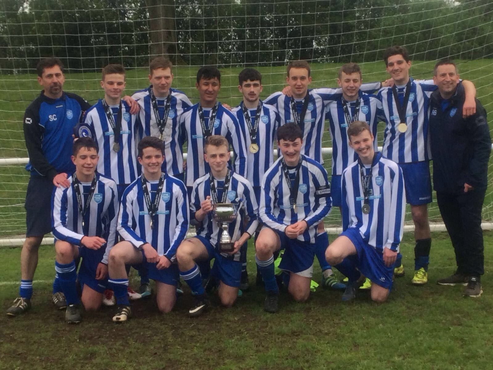 U18s Blues take home the U18 League Challenge Cup!