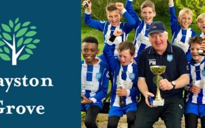 Layston Grove Care Home – Trophy Sponsor for Cougars 5-a-side Tournament!