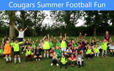 Buntingford Cougars Football Fun Summer 2019 – Taking Bookings Now